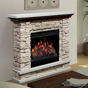 Dimplex 36 Compact Stone Electric Fireplace