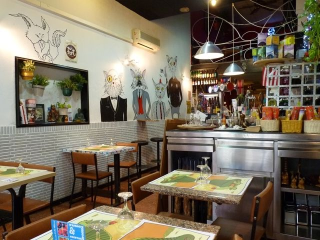 Restaurante vegano Cat Bar  C/ Boria, 17. 08003 Barcelona