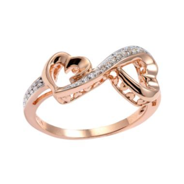 Rose Gold Promise Rings-I love thing ring! So pretty!