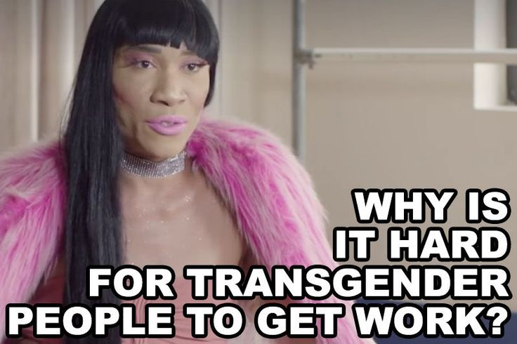 Why Is It Hard For Transgender People To Get Work?: http://ift.tt/2i4w864 | #queer #lgbt #pride
