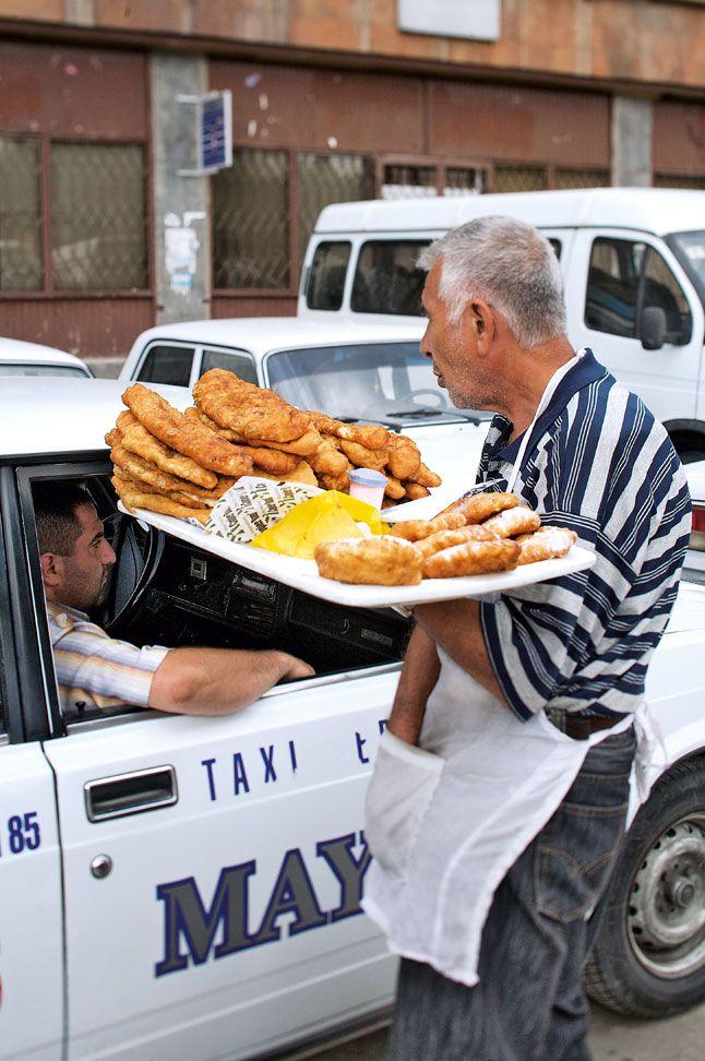 Armenian street vendor