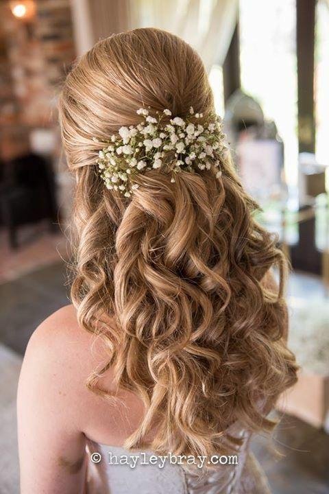 #WeddingHair #Weddinghairstlyes #BridalHair Hochzeitsfrisuren lange Haare unten,…