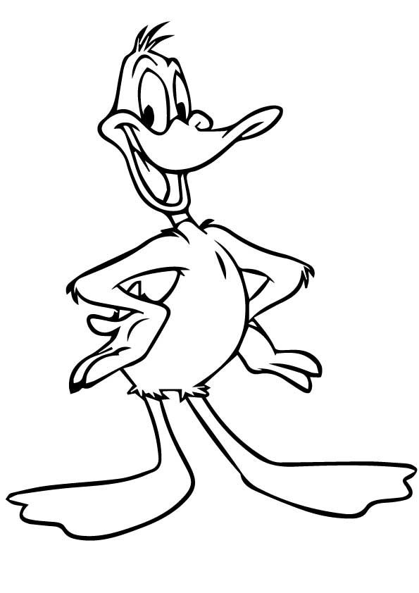 25 Funny Looney Tunes Coloring Pages For Your Toddler