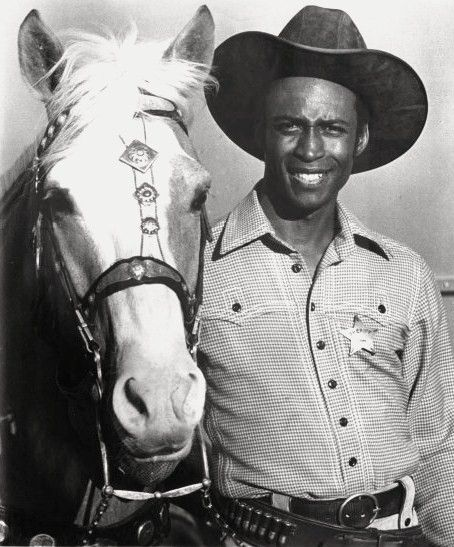 """Cleavon Little (1939 - 1992) Actor. He is best remembered for his roles of Bart, the Black Sheriff in the movie """"Blazing Saddles"""" (1974), and as Dr. Jerry Noland in the 1970s television series """"Temperatures Rising."""" Born in Chickasha, Oklahoma"""