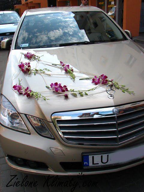 zielone klimaty - kwiaty Lublin: Oprawa florystyczna ślubu pani Małgosi