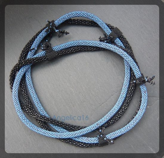 Blue Tickle - ADLIBITUM - Schmuck & Perlenarbeiten