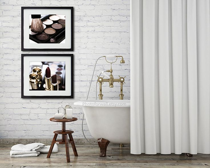 Chanel Bathroom Set Of 2 Prints Chanel Decor Makeup Bathroom Art Rustic Bathoom Decor Gallery Wall Shabby Decor Personalized Home Decor