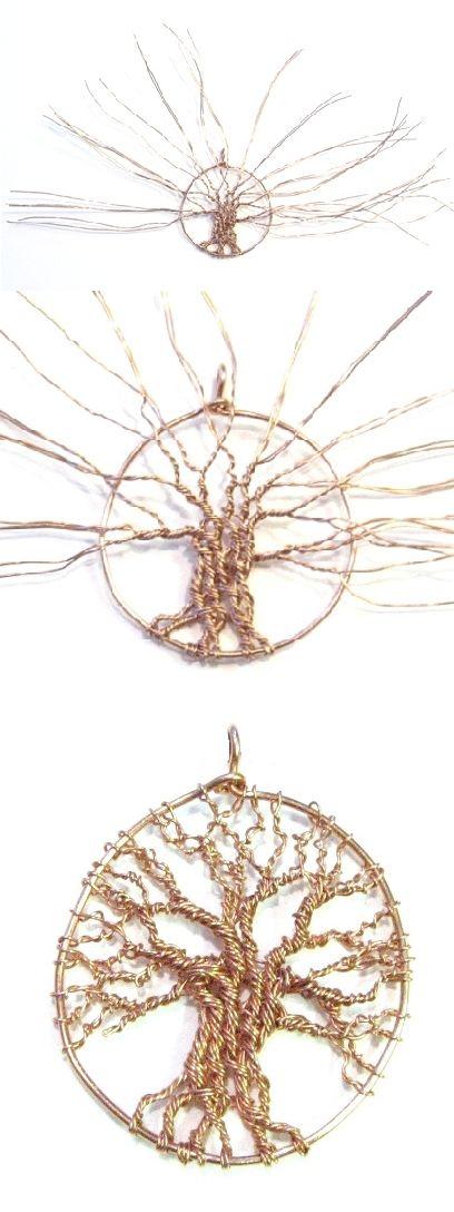 "Tutorial. ""Tree of life"". I also makes Comfortable elastic Hand jewelry  www.handjewellery.com www.etsy.com/se-en/shop/TinnasHandJewelry www.facebook.com/handsmycken.se"