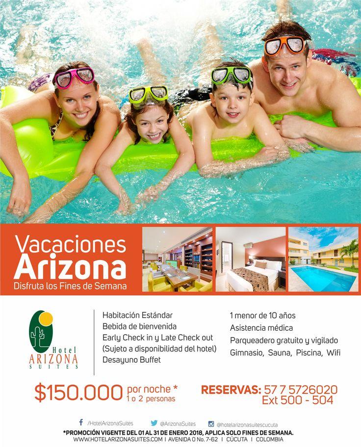 Disfruta en #Enero de las mejores #Vacaciones con tu #Familia o #Pareja solo por $ 150.000 1 o 2 personas por noche* Reservas 57 7 5726020 Ext 500 #Cucuta #Colombia #FindeSemana