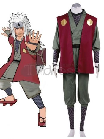 Make you the same as Jiraiya in this cosplay costume for Naruto cosplay show.