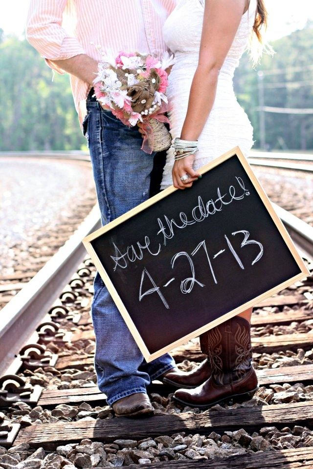 Save the Date;;;; I love this pose!!! :)