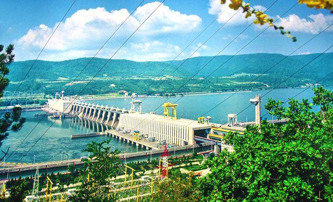 Hidrocentrala Portile de Fier 1 din judetul Mehedinti - flickr