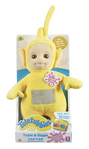 Teletubbies Tickle y Giggle Laa-Laa de peluche (Amarillo)... https://www.amazon.es/dp/B018S367K2/ref=cm_sw_r_pi_dp_LFlmxbVM7ENPQ