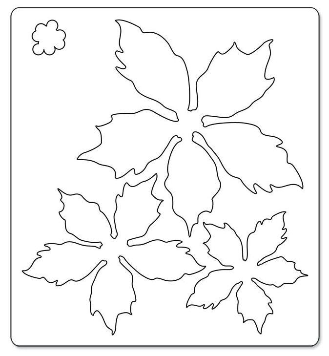 Sizzix Bigz Die - Tattered Poinsettia by Tim Holtz