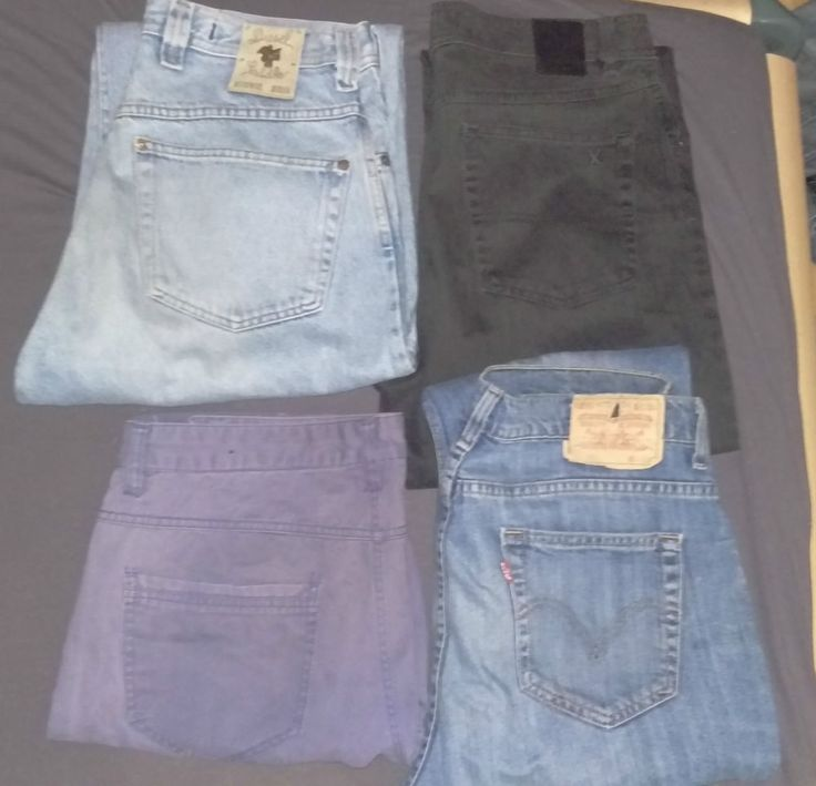 6  Herren Hosen Jeans  u,a, Diesel, 2x H&M, Levis . gay Skater Sk8er used
