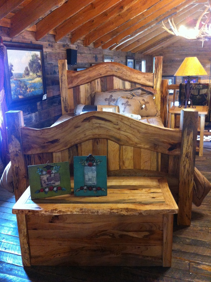 Beautiful Pecan Bed  Texas Hill Country Furniture