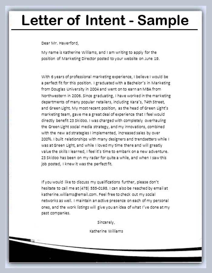 Ponad 25 najlepszych pomysłów na Pintereście na temat Letter of intent - letters of intent sample