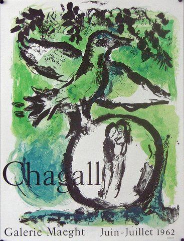 original-marc-chagall-exhibition-poster-1962-loiseau-vert-marc-chagall.jpg 688×900 pikseliä