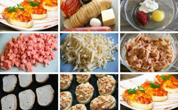 Melegszendvics sonkával, sajttal és tojással