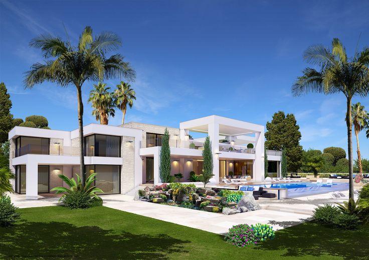 animacad Exterior 3D Marbella La Perla Blanca Vista 6 animacad - m bel f r kleine k chen