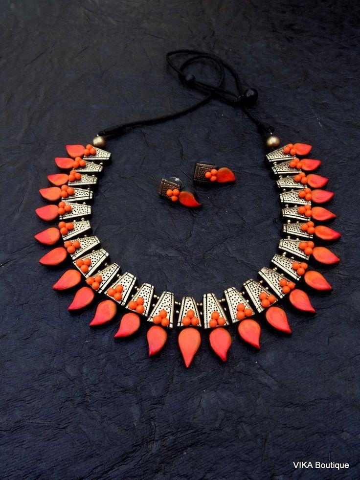 2274 best Terracotta jewellery designs images on Pinterest