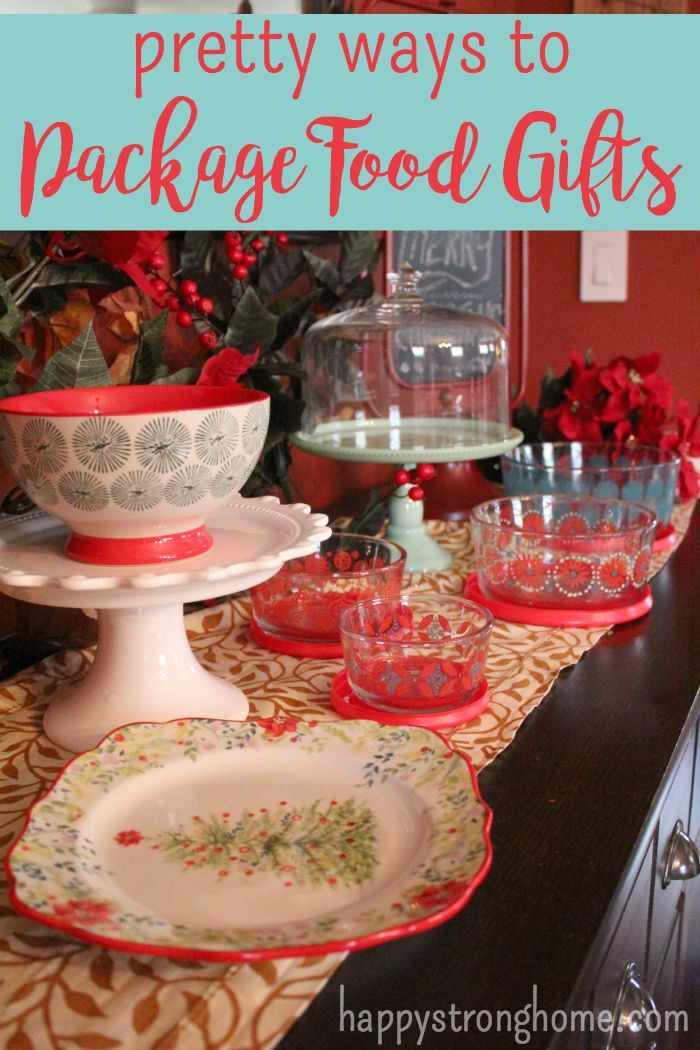 Pretty Ways to Package Food Gifts this Christmas Gift Ideas for