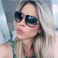 5b3baf428 Ofir retro casal de metal grande quadro óculos de sol óculos de armação de  alta qualidade óculos de sol das mulheres dos homens clássico mode…