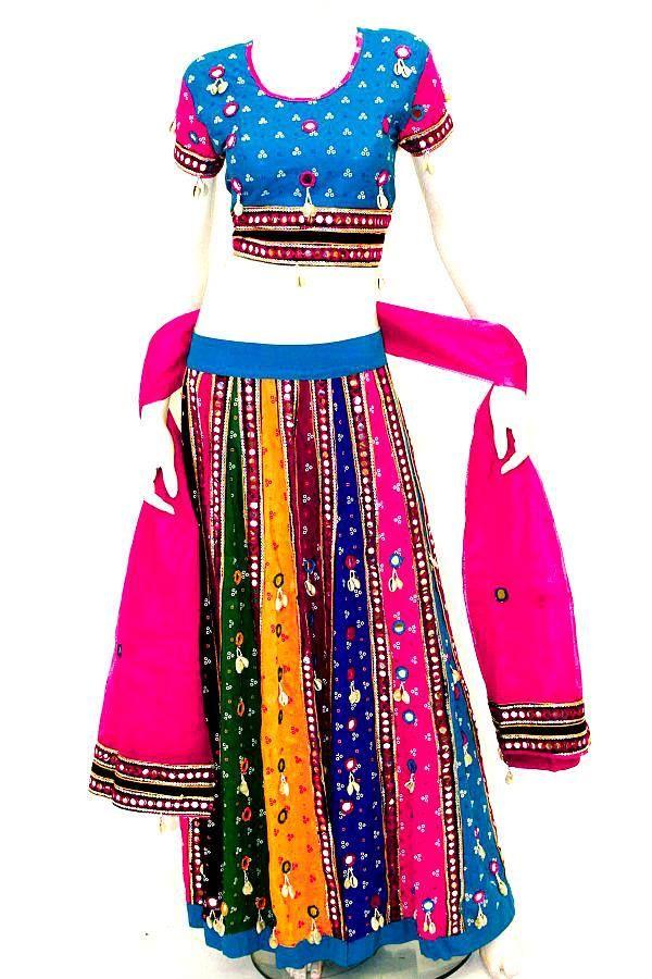 FLAT 20% OFF ENDS MIDNIGHT TODAY Use Code KRISHNA Get 20% Off Beautiful New Chaniya Choli's http://www.krishnasarees.com/lengha-c10/long-choli-lengha-c119/cct1005-pink-and-turquoise-traditional-chaniya-choli-p5586