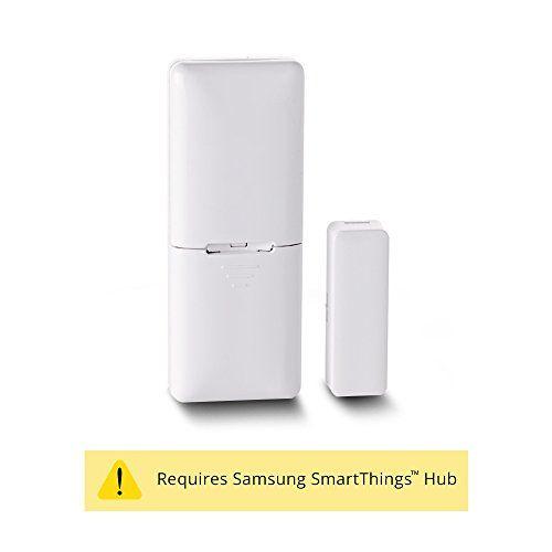 Visonic MCT-340 E Wireless Door Window Sensor 2.4ghz ZigBee – Requires Samsung SmartThings Hub