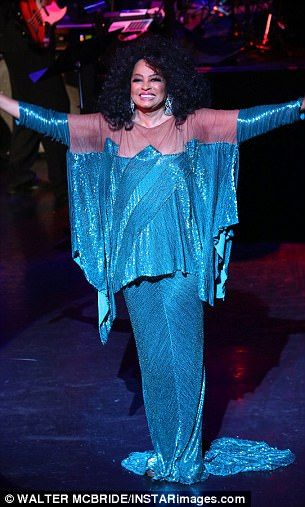 Diana Ross Performs With Her Family In New York Concert Motown