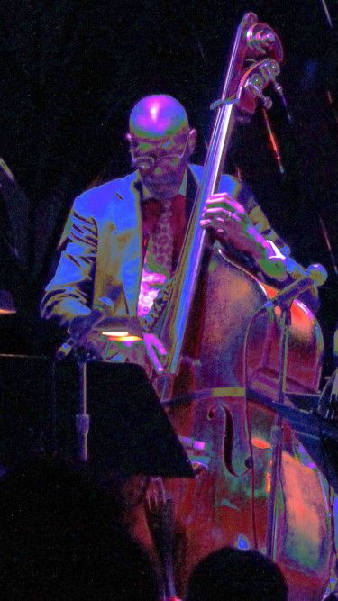 Ron Carter, Stanley Clarke and Russell Malone - Five photos by John McCluskey - Jerry Jazz Musician