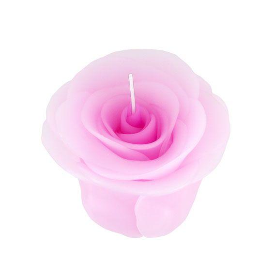 Rosen Kerze In Pink Liebe Anerkennung Dankbarkeit
