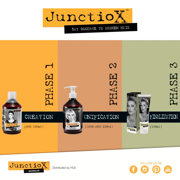 Chemical treatments may damage the hair: Junctiox is a three step path to take care of hair, preventing damages / I trattamenti chimici possono rovinare il capello: Junctiox è un percorso a tre fasi per prendersi cura dei capelli, prevenendo che si danneggino #hsacosmetics #cosmetics #beauty #love #wellness #beautiful #hair #hairstyle #haircolor #junctiox
