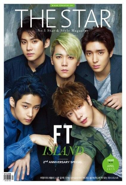 F.T Island pose for 'The Star' before comeback   http://www.allkpop.com/article/2015/03/ft-island-pose-for-the-star-before-comeback
