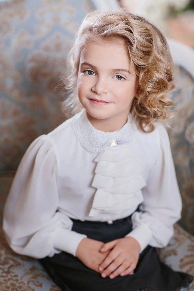 8cba76e9dfd06 Блузки для девочек для школы (58 фото): школьные блузы, нарядные модели,  трикотажные