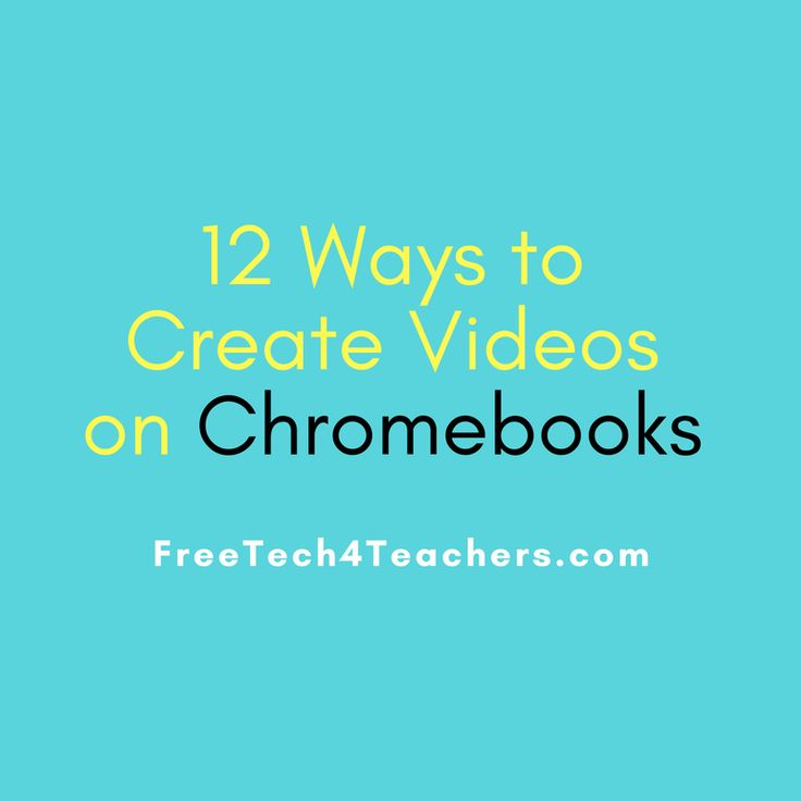It seems like every month there is a new tool for creating videos on Chromebooks. In the two months since I published my last post about m...