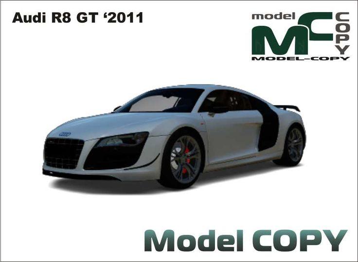 Audi R8 GT '2011 - Modello 3D - Model COPY