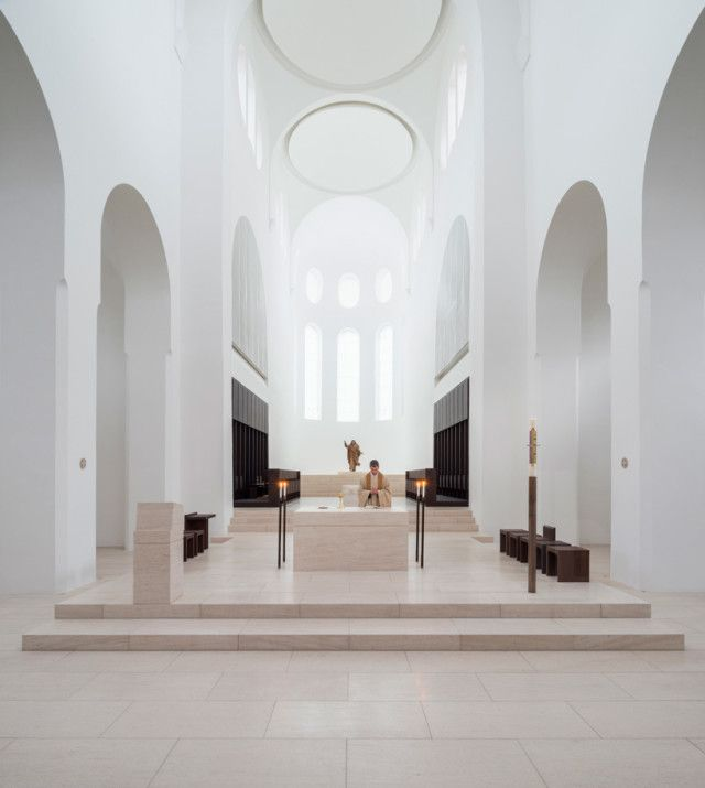 St. Moritz Church in Augsburg, Germany, by John Pawson ジョン・ポーソン作「サンモリッツ教会」(ドイツ、アウクスブルク)