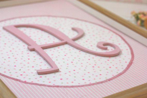 Girl Nursery decoration/Personalized baby's by CottonLullabyShop