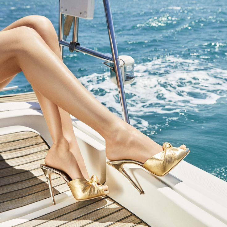 What we consider getting your sea legs. The BRIDGET. #GZSS17 #GiuseppeZanotti