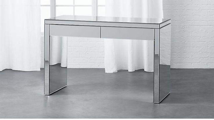 1000 Ideas About Mirror Desk On Pinterest Mirrored