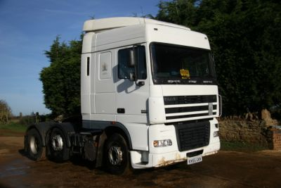 2005 DAF XF95 FTG XF 95 480 Tractor Unit 6x2 For Sale in Banbury, Oxford