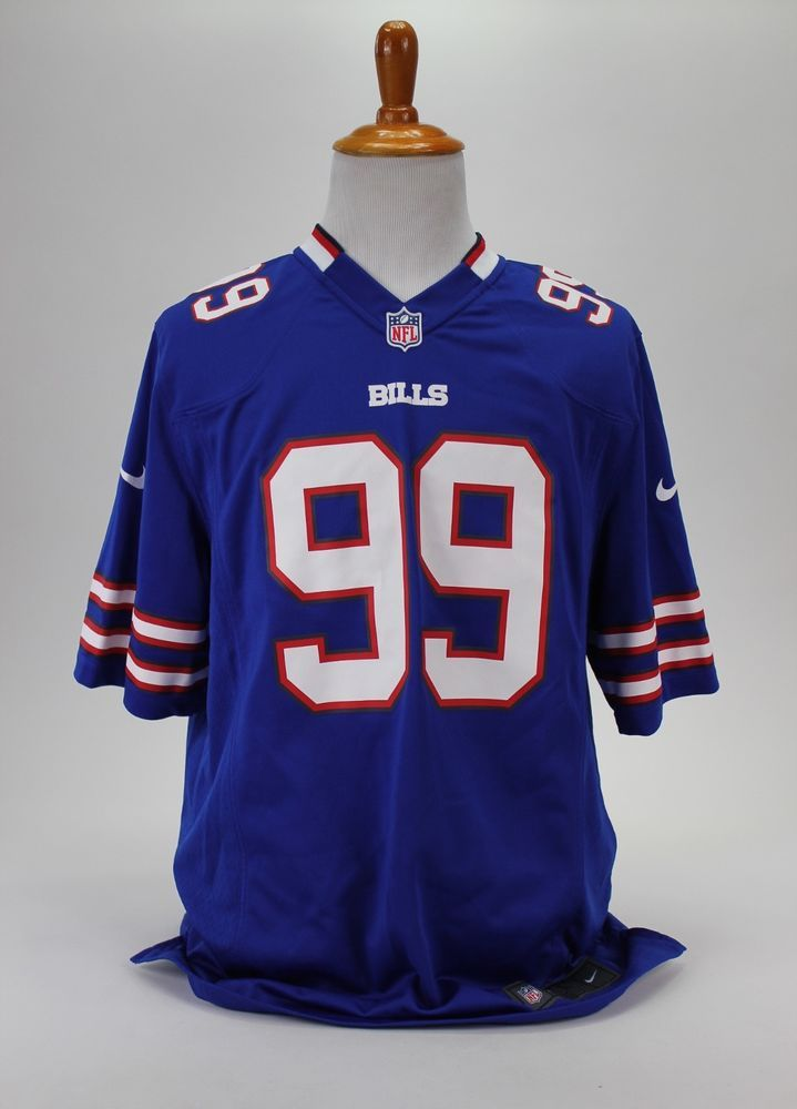 Buffalo Bills NFL DAREUS  99 Football Mens Nike On Filed Blue Jersey Size L   Nike  BuffaloBills 26ad924f1