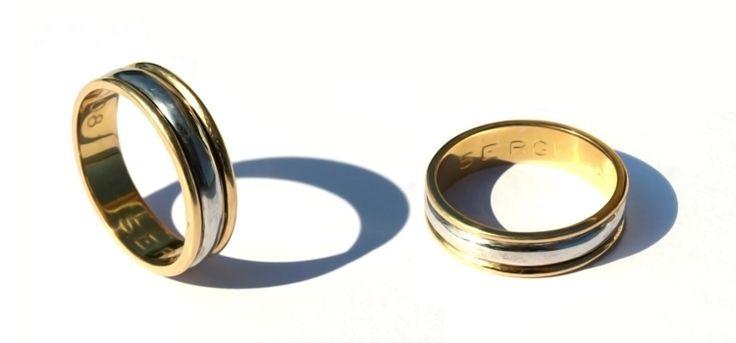 Alianzas de oro personalizadas #alianza #aliances #weddingrings #boda #wedding #emmmi #mataró #mataro #desing #oro #gold #diamante #diamantes #diamonds #oroblanco #orblanc #whitegold