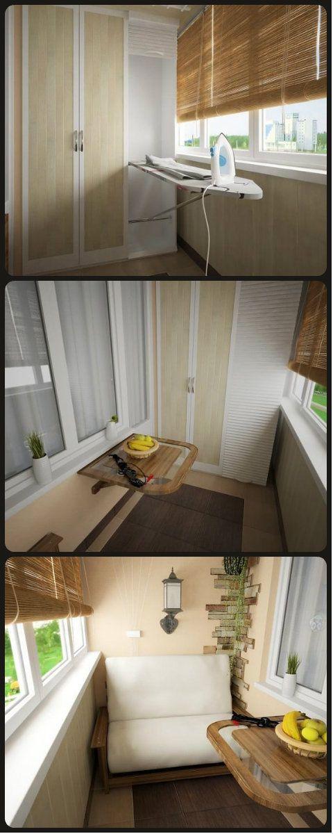 + Идея для столика на балконе