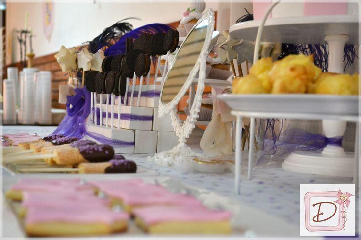 temática= princesas #fiesta #cumpleaños #festejo #decoración #ambientación #tematización  #golosinas #cocina #mesadulce