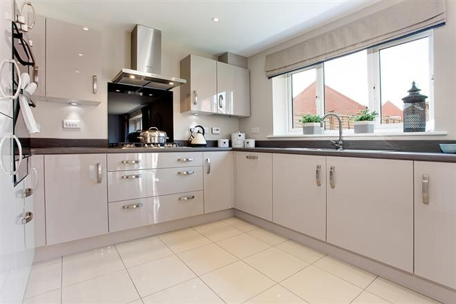 taylor wimpey grey gloss cabinets - Google Search