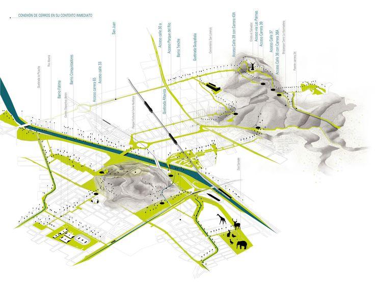 Galería - Célula Arquitectura, segundo y tercer lugar por plan maestro en cerros Nutibara y La Asomadera / Medellín - 25