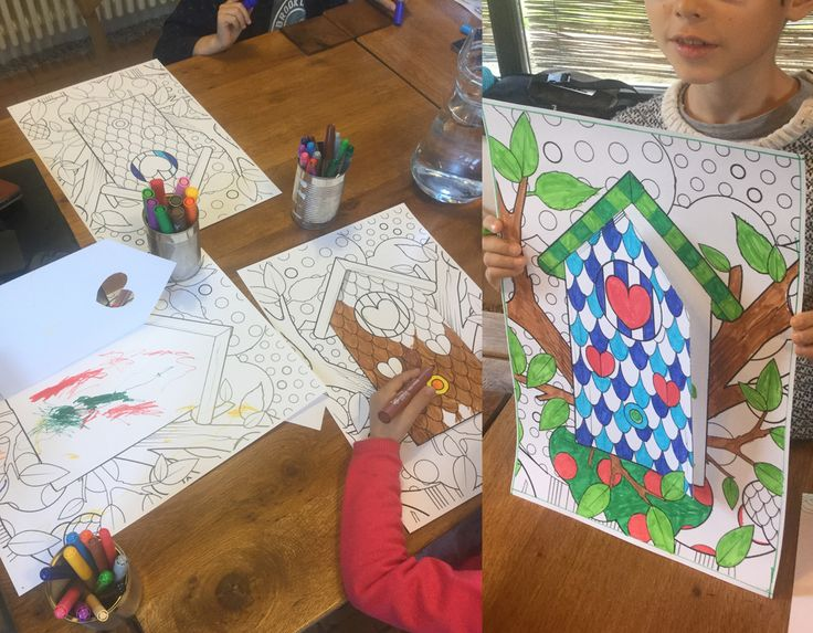 Kids at work during weekend workshop