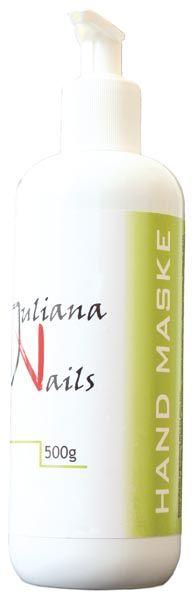 Hand Maske - Juliana NailsIntensivpflege der neuesten Generation mit Vitamin E, Johanniskrautöl und Extrakt vom Grünen Tee.
